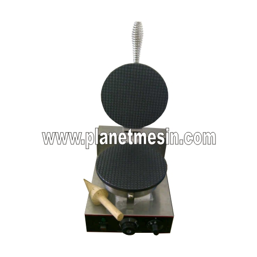 mesin waffle cone