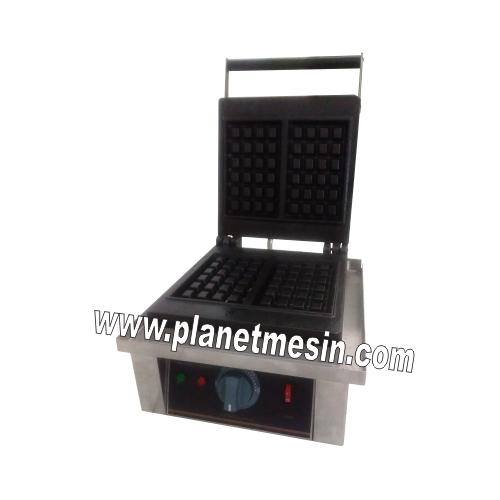 mesin wafle kotak