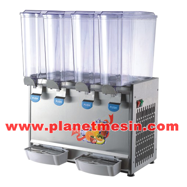 mesin juice dispenser 4 tabung