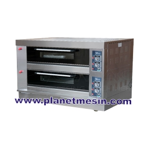 oven gas 2 deck 6 loyang
