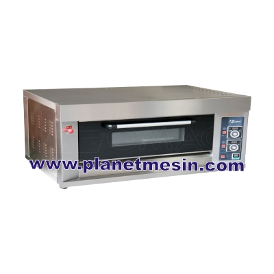 oven gas 1 deck 3 loyang