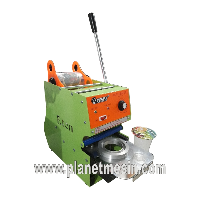 mesin cup sealer air mineral