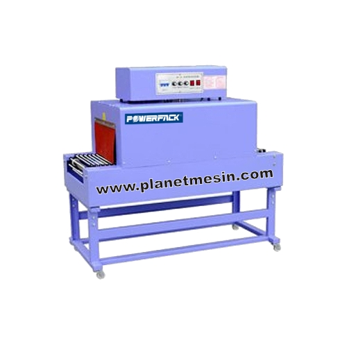 mesin shrink bsd-200, mesin pemanas plastik